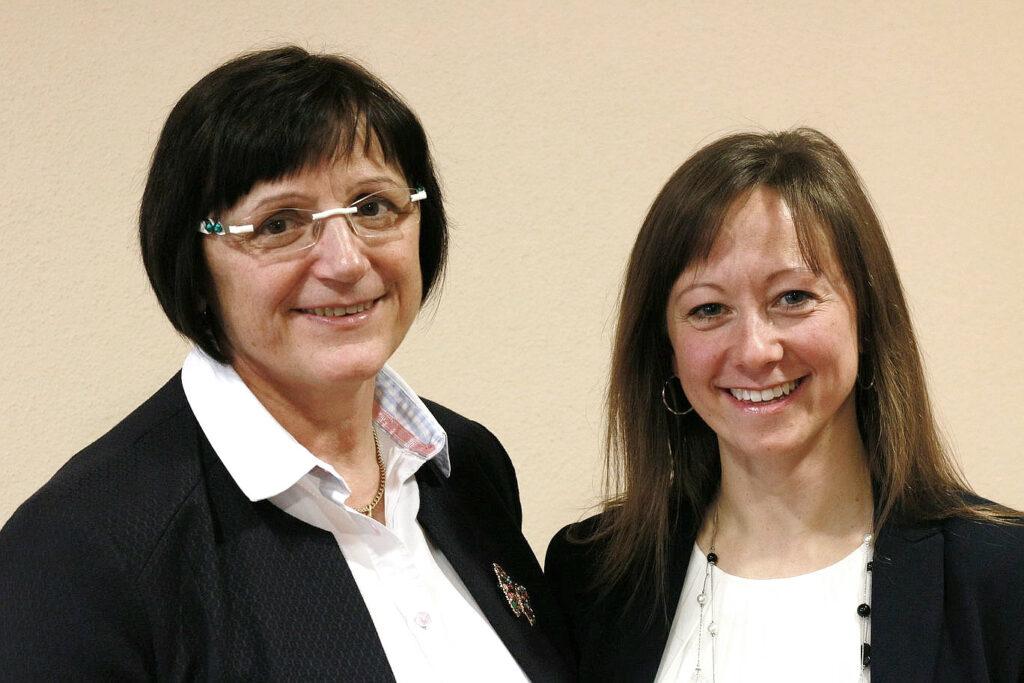 Eva Graf-Friedel und Veronika Tauchert